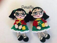 Vecindad del Chavo 8 - YouTube Harry Potter Crochet, Mexican Crafts, Crochet Videos, Gisele, Funny Kids, Cross Stitch, Crochet Hats, Christmas Ornaments, Cute