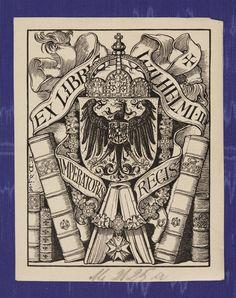 Bookplate of Emperor Wilhelm II
