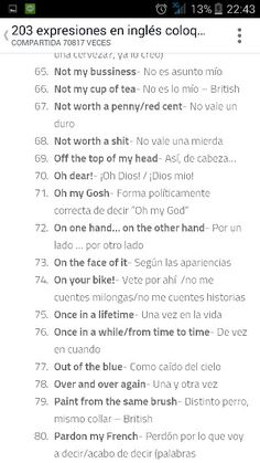 Expresiones coloquiales 5