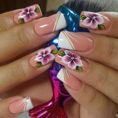 Pretty Toe Nails, Pretty Nail Art, Beautiful Nail Art, Gorgeous Nails, Beautiful Nail Designs, French Nail Designs, Nail Art Designs, Lily Nails, Hot Nails