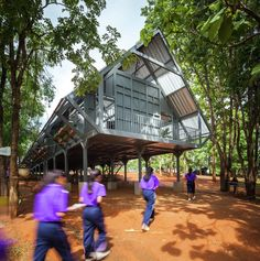 Gallery - Bann Huay San Yaw- Post Disaster School / Vin Varavarn Architects - 18