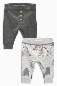 Two Pack Dino Joggers (0-18mths)