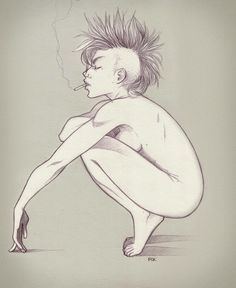 #punk #girl #drawing