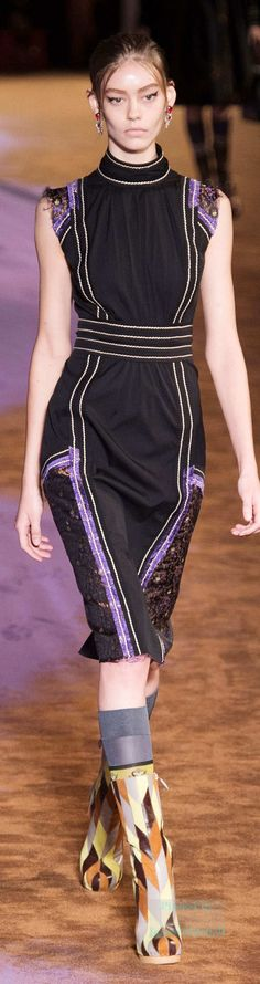 Prada Collection Spring 2015 Ready-to-Wear - pin courtesy of James Mitchell