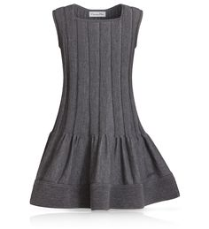 BABY DIOR - Dior grey tricot knit dress, Kids fashion | Kids clothing