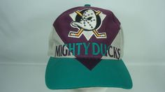 Mighty Ducks Green Purple Gray Snapback Hat NHL Officially Licensed Hockey Twins | Clothing, Shoes & Accessories, Men's Accessories, Hats | eBay!