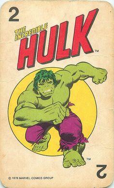 Marvel Comics Superheroes Card Game by andertoons, via Flickr: