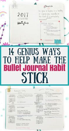 You've been introduced to bullet journals and you love everything you've seen so far. But this time, you want to commit. Learn how to make your bullet journal habit stick, common problems that make people quit, and useful ideas to overcome them. Bullet Journal Inspo, Bullet Journal Tracker, Bullet Journal How To Start A, Bullet Journal Spread, Bullet Journal Layout, Bullet Journals, Bujo, Journal Prompts, Journal Pages