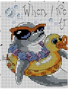 Cross Stitch animal 1/2