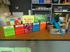 rituels Kindergarten Calendar, Petite Section, Preschool, Classroom, Storage, Montessori, Albums, Activities, Wolves