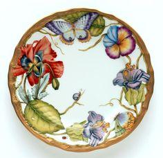 Ornate Salad Plate