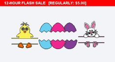 Personalized Easter Stickers, Easter Vinyl Decals, decals for Easter Baskets, Easter Themed gifts, Easter Gift Decals, Custom vinyl stickers