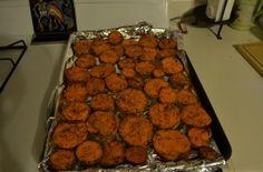Salt & Vinegar Sweet Potato Chips