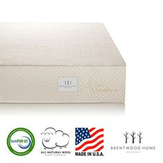 Special Offers - Brentwood Home Bamboo Gel 10 Memory Foam Mattress Made in USA Full - In stock & Free Shipping. You can save more money! Check It (October 31 2016 at 01:40PM) >> http://adjustablebedusa.net/brentwood-home-bamboo-gel-10-memory-foam-mattress-made-in-usa-full/
