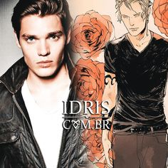 Shadowhunters TV cast: Dominic Sherwood as Jace Herondale (edit by IdrisBR, art by cassandrajp)