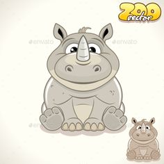 Download Free Graphicriver              Cartoon Rhino Character            #               adorable #animal #art #baby #background #boy #card #cartoon #cheerful #clip #color #creature #cute #design #fun #happy #illustration #isolated #joy #kid #label #little #logo #mammal #pet #smile #toy #vector #young #zoo