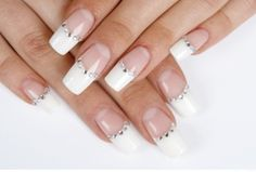 French manicure #nails art designs for short nails and also nail designs ; 20 #French #Manicure Nail Art Ideas  http://www.ecstasycoffee.com/20-french-manicure-nail-art-ideas/