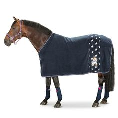 Navy ESKADRON pony fleece