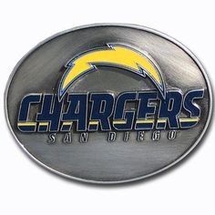 San Diego Chargers Team Belt Buckle