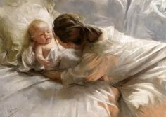 Maternidad by Vicente Romero Redondo
