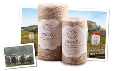 Twool - strong enough for gardening and soft enough for crafting :)