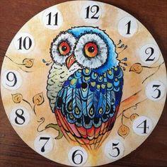 Diamond Painting Cross Stitch DIY Diamond Embroidery clock owl Home Decoration Diamond Mosaic Kits Needlework Crafts Cross Paintings, Animal Paintings, Hobbies And Crafts, Arts And Crafts, Owl Clock, Mosaic Kits, Diamond Drawing, Mosaic Pictures, Cross Stitch Pictures