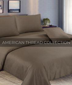 Impressions Elmwood 100-Percent Cotton 3-Piece Full//Queen Duvet Cover Set