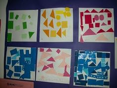 Shape collages...