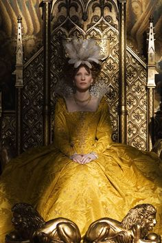 Queen Elizabeth I (Cate Blanchett) 'Elizabeth: The Golden Age' 2007. Costume designed by Alexandra Byrne.