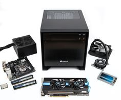 Build a mini liquid-cooled gaming PC - tired of all the huge bland PC towers? This PC has all the grunt of a high-end gaming PC but is barely any bigger than a shoebox.