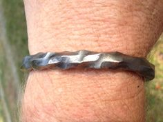 Hand forged Dragon Scale Oath Ring Bracelet Copy by BullaForge