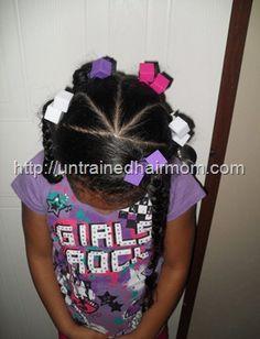 kids easy hair style