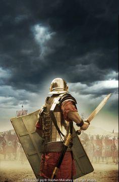 A Roman soldier © Stephen Mulcahey / Arcangel Images