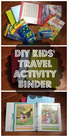 This was inexpensive and fun to put together--and it was a huge lifesaver on our two-day journey to Florida. It kept the kids occupied for hours...and it cut down on hauling lots of car activities.