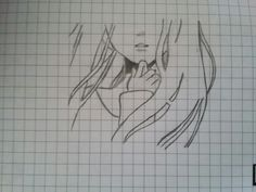 Girl. Don't really like her hand ^^'  My drawing