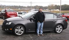 Charles Watson of Cowden and his new 2014 CHEVROLET CRUZE! Congratulations from Hosick Motors, Inc. and Bryan Hobbie.