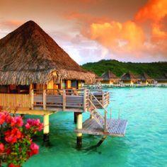 Dream vacation. Bora Bora.