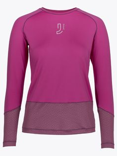Johaug Impel Long Sleeve - Orchid | GetInspired.no Orchid, Long Sleeve, Sleeves, Sweaters, Fashion, Moda, Long Dress Patterns, Fashion Styles, Sweater