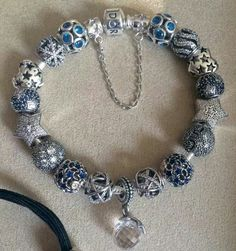 >>>Pandora Jewelry OFF! Pandora Beads, Pandora Bracelet Charms, Pandora Rings, Pandora Jewelry, Charm Jewelry, Bracelets For Boyfriend, Pandora Collection, Bracelet Designs, Tiffany