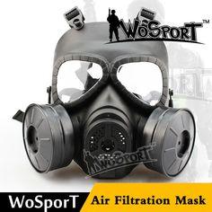 Wosport táctica de cara completa máscaras cráneo v4 cosplay m04 cs wargame militar paintball airsoft dos fan máscara de gas de seguridad accesorios