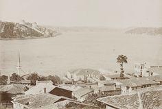 Kandilli'den Rumelihisarı Pascal Sébah, 1870
