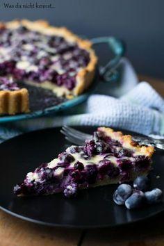 Finnish Blueberry Pie - What You Don& Know .- Finnischer Blaubeerkuchen – Was du nicht kennst… Finnish blueberry pie - Delicious Cake Recipes, Tart Recipes, Yummy Cakes, Baking Recipes, Dessert Recipes, Blueberry Cake, Blueberry Recipes, Food Cakes, Cupcake Cakes