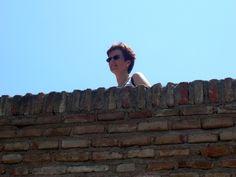 Besuch auf der Alcazaba in Malaga