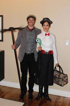 Mary & Burt costume