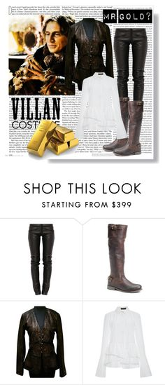 #Rumpelstiltskin OUAT by hacii on Polyvore featuring moda, Thakoon, Natacha & Vanessa, Preen, Vintage Shoe Company and Once Upon a Time #Onceuponatime #villan #mrgold #halloween