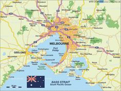 MapasBlog: Mapas de Melbourne – Austrália