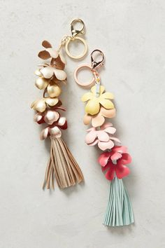 Flower Bunch Keychain