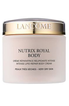 Great for Lancome Nutrix Royal Body Nourishing Moisturizer Cream beauty makeup perfume from top store Cream For Dry Skin, Skin Cream, Body Butter, Shea Butter, Creme Reparatrice, Hydrating Toner, Body Care, The Balm, Health And Beauty