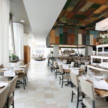 ...an almost perfect balance of opposing styles.  Doesn't hurt that the food rocks.  Ella Dining Room & Bar.