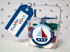 Nautical - Favor Tags - Birthday Boy - Printable - psDre Party Printables. €4,50, via Etsy.